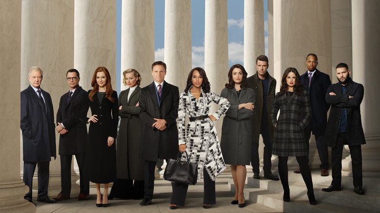 JEFF PERRY, JOSHUA MALINA, DARBY STANCHFIELD, PORTIA DE ROSSI, TONY GOLDWYN, KERRY WASHINGTON, BELLAMY YOUNG, SCOTT FOLEY, KATIE LOWES, CORNELIUS SMITH JR., GUILLERMO DIAZ